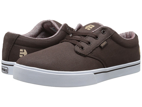 etnies - Jameson 2 Eco (Dark Chocolate) Men's Skate Shoes