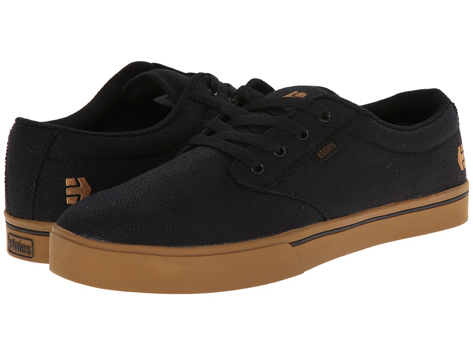 etnies - Jameson 2 Eco (Black/Brown/Green) Men's Skate Shoes