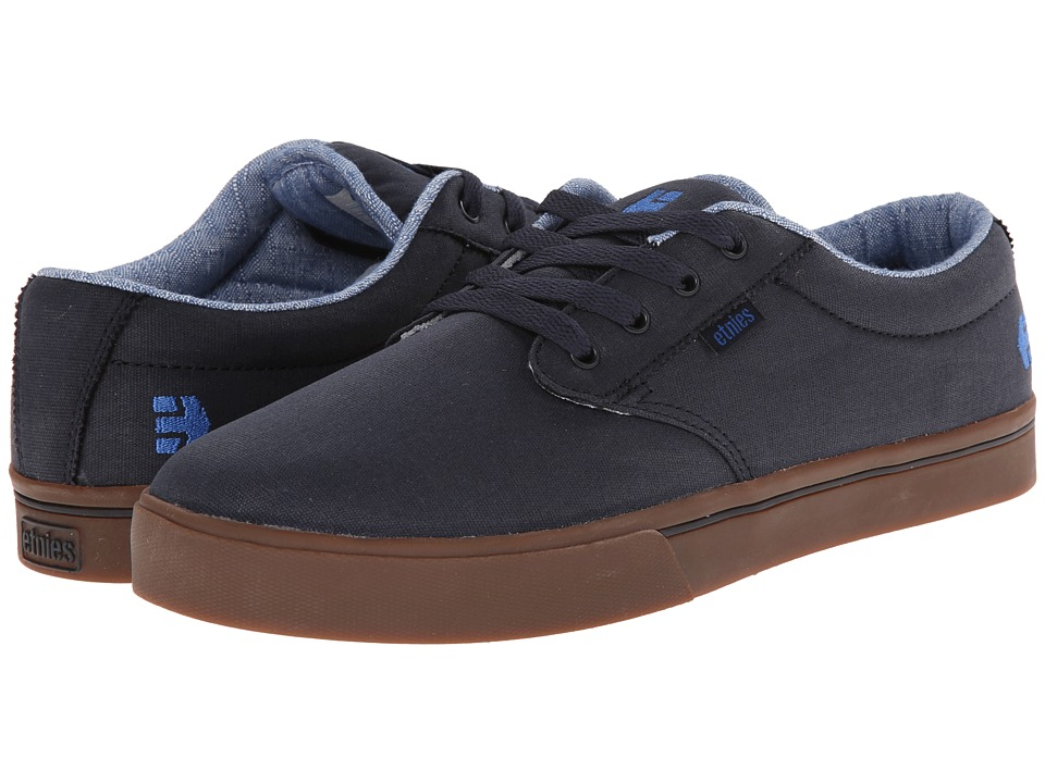 etnies - Jameson 2 Eco (Navy/Blue) Men's Skate Shoes