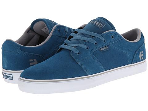 etnies - Barge LS (Blue) Men's Skate Shoes