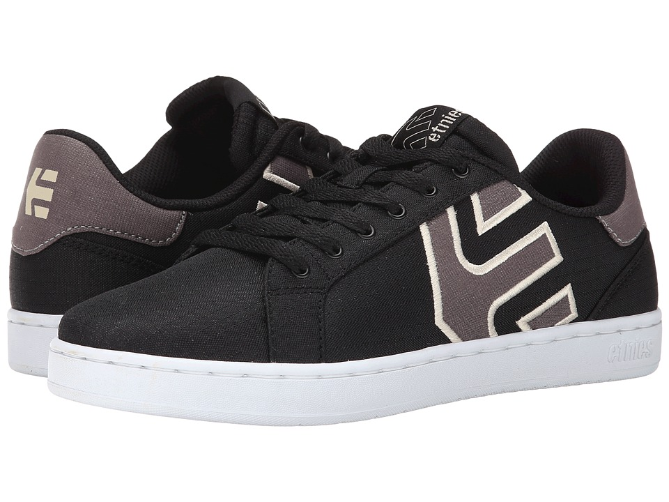 etnies - Fader LS (Black) Men's Skate Shoes