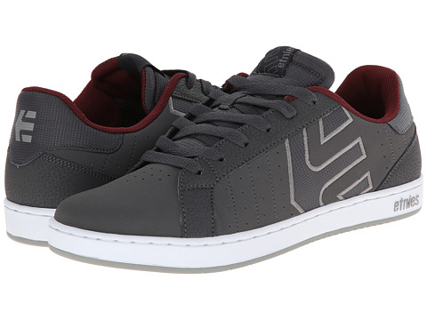 etnies - Fader LS (Dark Grey) Men's Skate Shoes