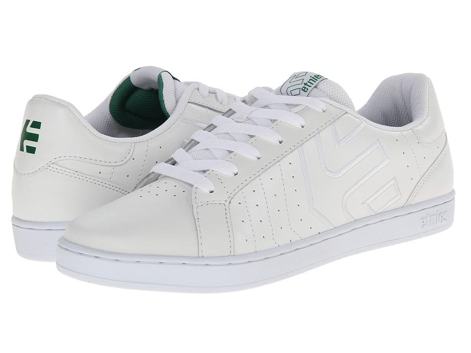 etnies - Fader LS (White) Men's Skate Shoes