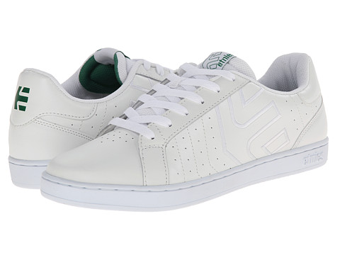 etnies - Fader LS (White) Men's Skate Shoes