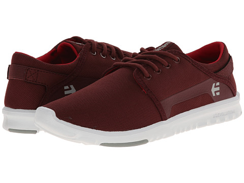 etnies - Scout (Burgundy) Men's Skate Shoes