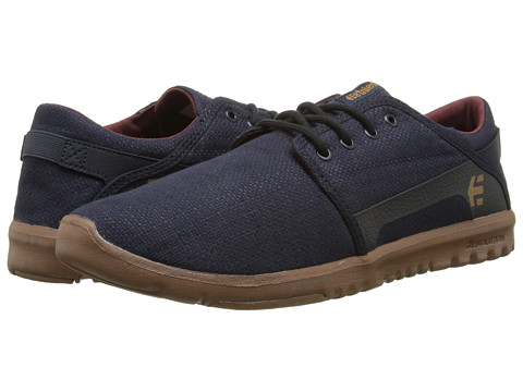etnies - Scout (Navy/Gum) Men's Skate Shoes