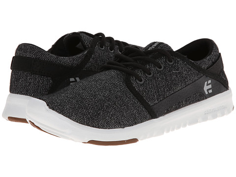 etnies - Scout (Black/White) Men's Skate Shoes