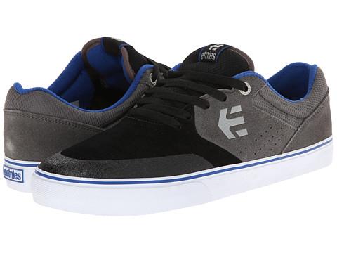 etnies - Marana Vulc (Black/Grey/Royal) Men's Skate Shoes