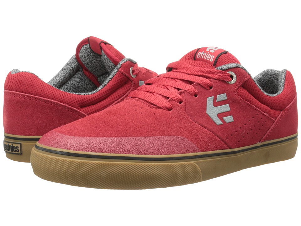 etnies - Marana Vulc (Red/Gum) Men's Skate Shoes