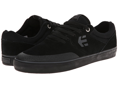 etnies - Marana Vulc (Black/Black/Gum) Men's Skate Shoes