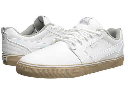 etnies - Rap CT (White/Gum) Men's Skate Shoes