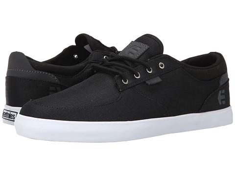 etnies - Hitch (Black) Men's Skate Shoes