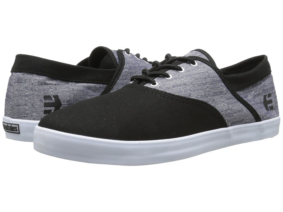 etnies - Corby (Black/White) Men's Skate Shoes