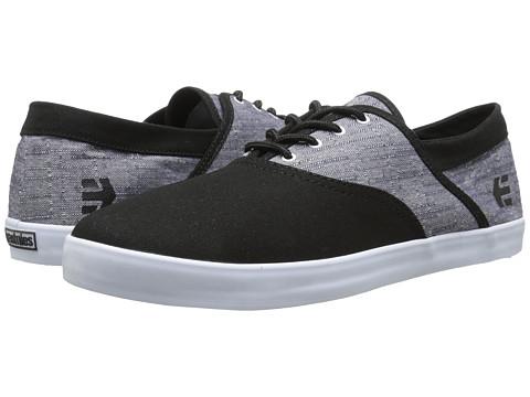 etnies - Corby (Black/White) Men's Skate Shoes