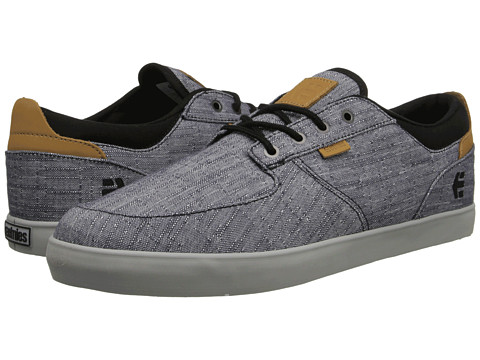 etnies - Hitch (Charcoal) Men's Skate Shoes
