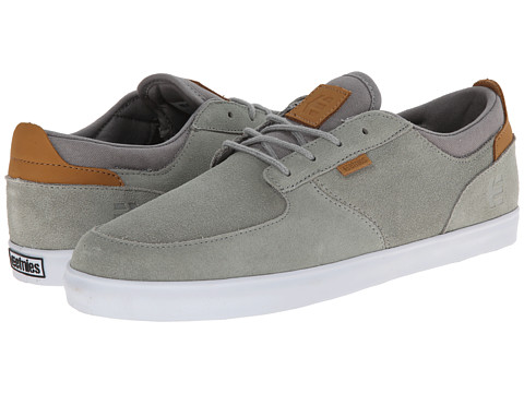 etnies - Hitch (Grey) Men's Skate Shoes