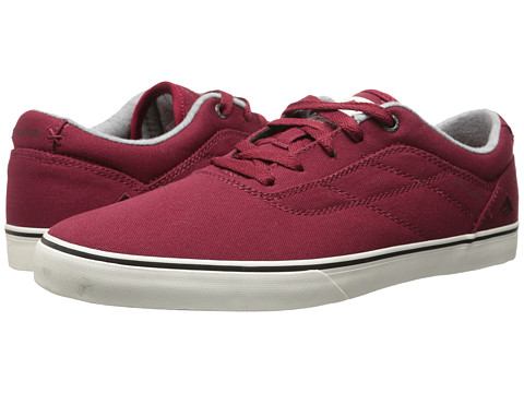 Emerica - The Herman G6 Vulc (Burgundy) Men's Skate Shoes