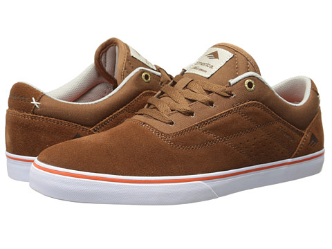 Emerica - The Herman G6 Vulc (Brown/Orange) Men