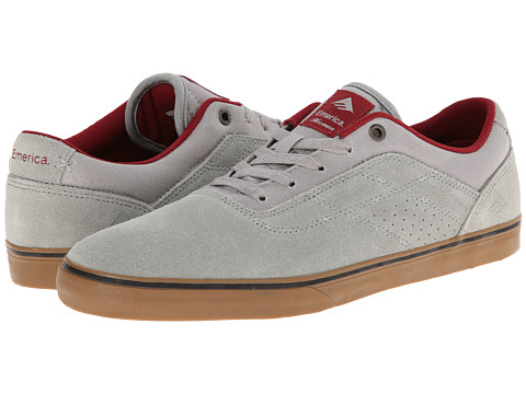 Emerica - The Herman G6 Vulc (Grey/Gum) Men's Skate Shoes