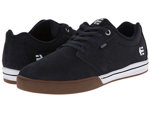 etnies - Jameson 2 E-Lite (Navy/White/Gum) Men's Skate Shoes