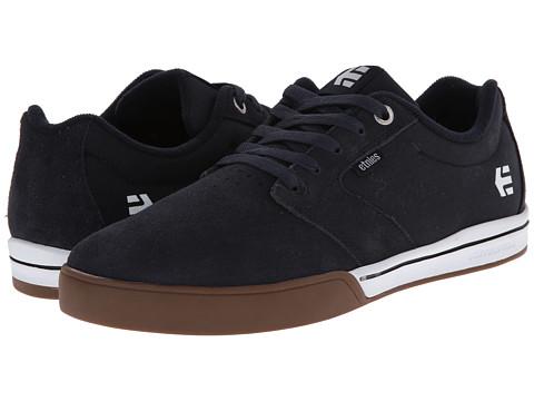etnies - Jameson 2 E-Lite (Navy/White/Gum) Men's Skate Shoes