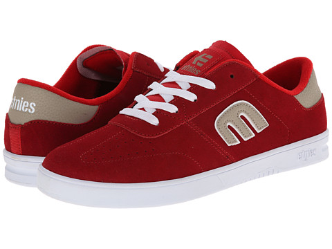 etnies - Lo-Cut (Red) Men's Skate Shoes