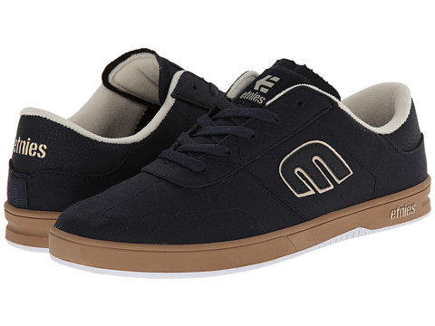etnies - Lo-Cut (Navy) Men's Skate Shoes