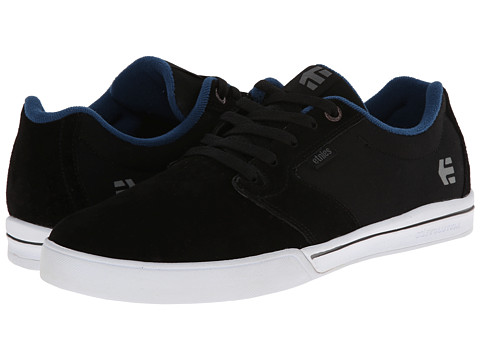 etnies - Jameson 2 E-Lite (Black/White) Men's Skate Shoes