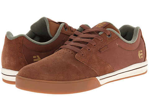 etnies - Jameson 2 E-Lite (Brown/White/Gum) Men