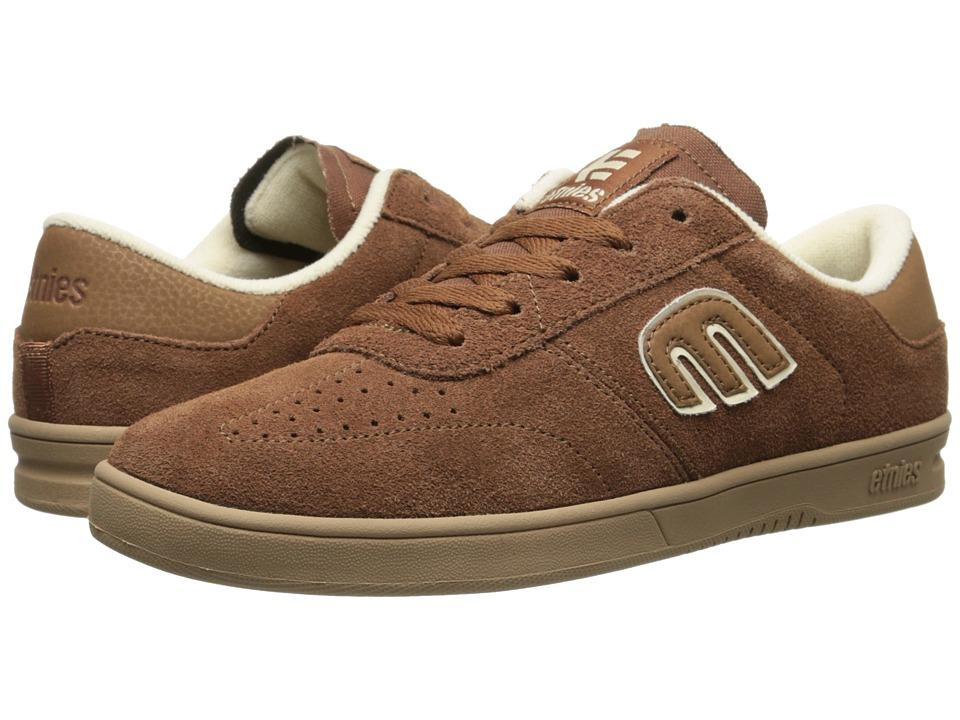 etnies - Lo-Cut (Brown/Gum) Men's Skate Shoes