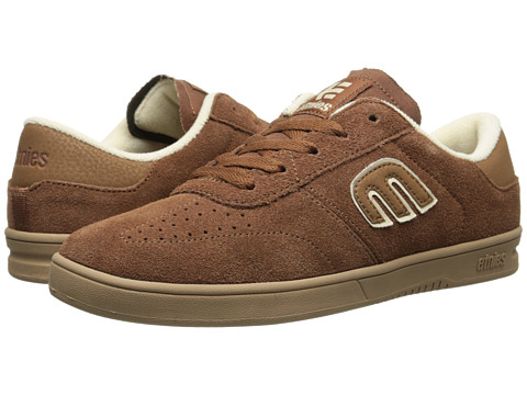 etnies - Lo-Cut (Brown/Gum) Men's Skate Shoes