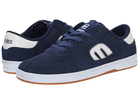 etnies - Lo-Cut (Blue/White/Gum) Men