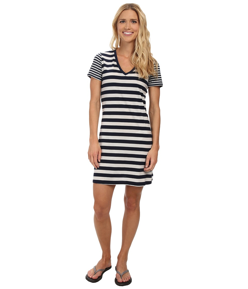 Icebreaker Tech Lite S/S V-Neck Dress (Admiral) Women