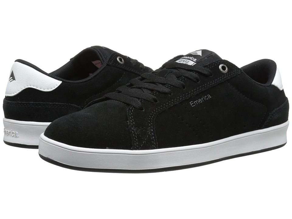 Emerica - The Leo Dos (Black/White) Men's Skate Shoes