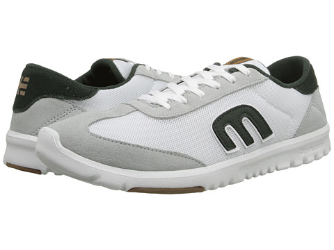 etnies - Lo-Cut SC (White/Light Grey) Men