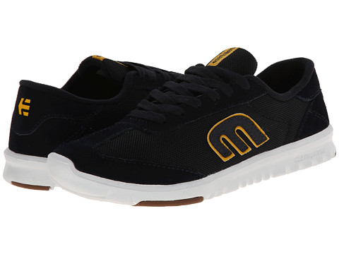 etnies - Lo-Cut SC (Navy/White/Gum) Men's Skate Shoes