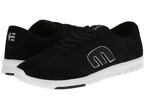 etnies - Lo-Cut SC (Black/White) Men's Skate Shoes