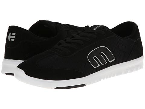 etnies - Lo-Cut SC (Black/White) Men's Skate Shoes