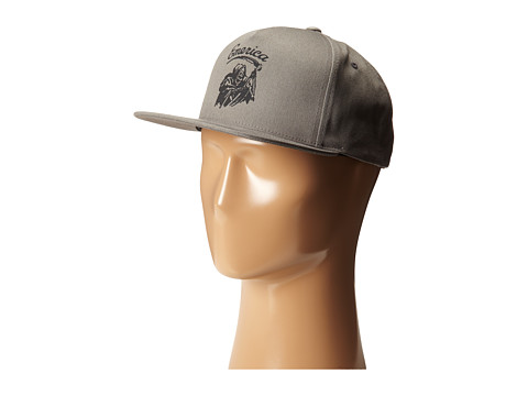 Emerica - Grimmer Snapback Hat (Stone) Caps