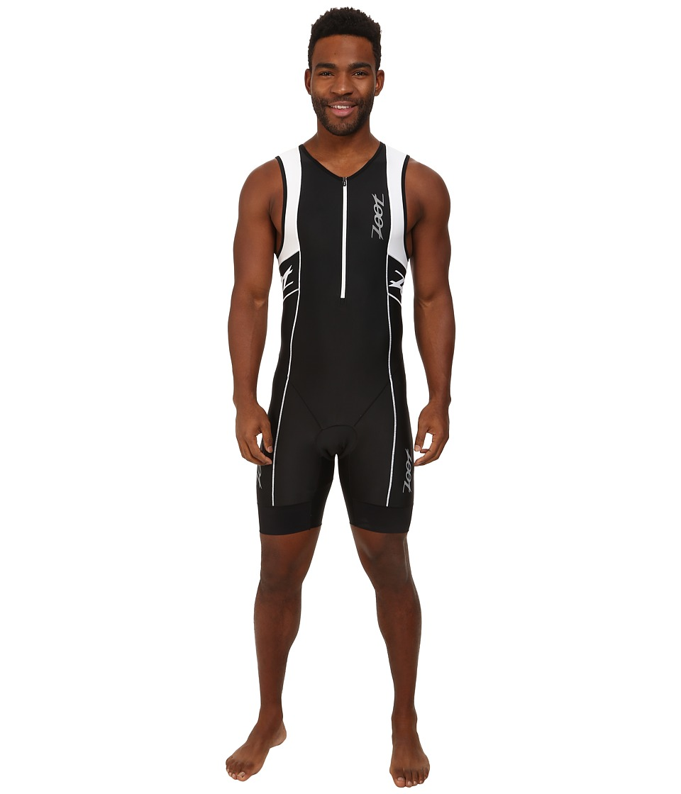 Zoot Sports - M Performance Tri Racesuit (Black/White) Men's Race Suits One Piece