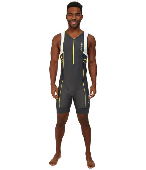 Zoot Sports - M Performance Tri Racesuit (Pewter/White) Men's Race Suits One Piece