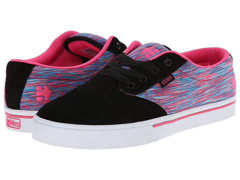 etnies - Jameson 2 W (Black/Pink/White) Women's Skate Shoes