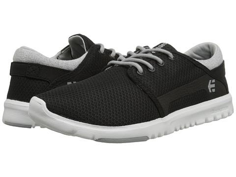 etnies - Scout W (Black/Grey/White) Women's Skate Shoes