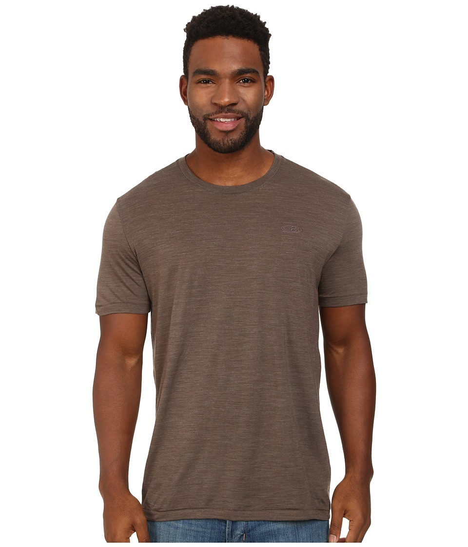 Icebreaker - Sphere S/S (Trail Heather) Men's Short Sleeve Pullover