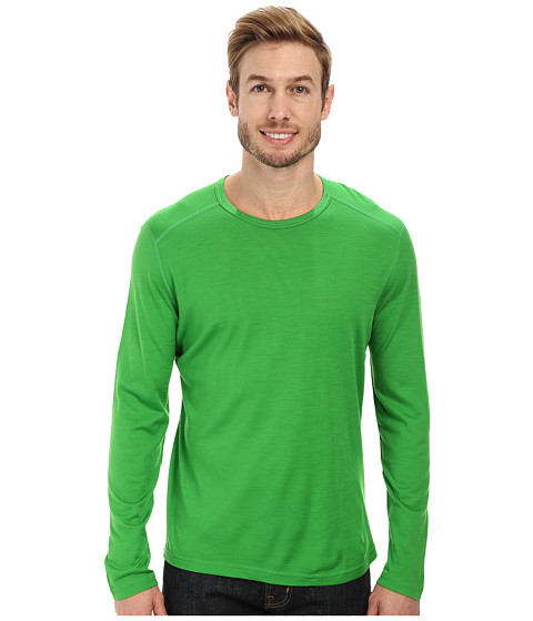 Icebreaker - Oasis Long Sleeve Crewe (Lawn) Men's Long Sleeve Pullover