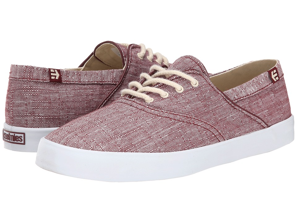 etnies Corby W (Burgundy/White) Women's Skate Shoes