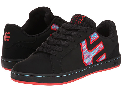 etnies - Fader LS W (Black/Black/Red) Women