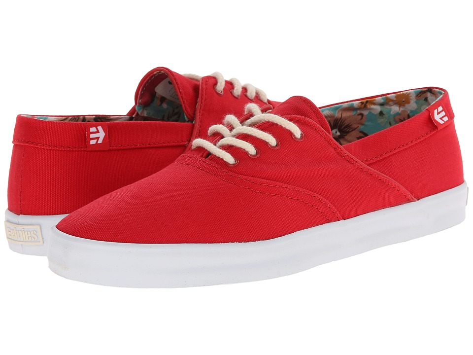 etnies - Corby W (Red/White) Women's Skate Shoes