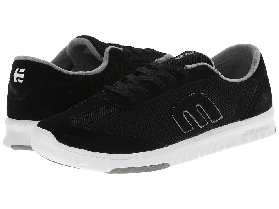 etnies - Lo-Cut SC W (Black/White) Women's Skate Shoes