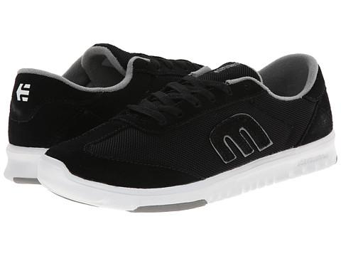 etnies - Lo-Cut SC W (Black/White) Women's Skate Shoes